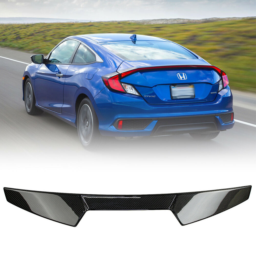 2019 2DR Civic 10th Coupe For Honda V Style Rear Roof
