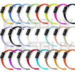 Replacement Silicone Bracelet Sport Band for Apple Watch Series 3/2/1 42mm 38mm