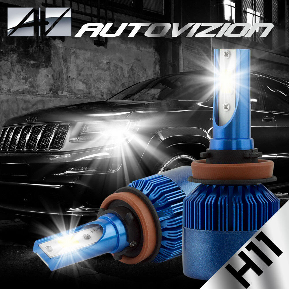 2014 Nissan Rogue Select Camshaft: AUTOVIZION LED HID Headlight Kit H11 White For Nissan