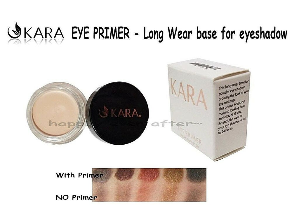 Shadow Primer Kara Eye Primer Long Wear True Color Effect All