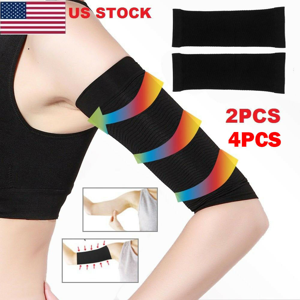 dfbb0d58b1 Details about USA Lots Women Slimming Arm Shaper Weight Loss Cellulite Fat  Burner Wrap Belt