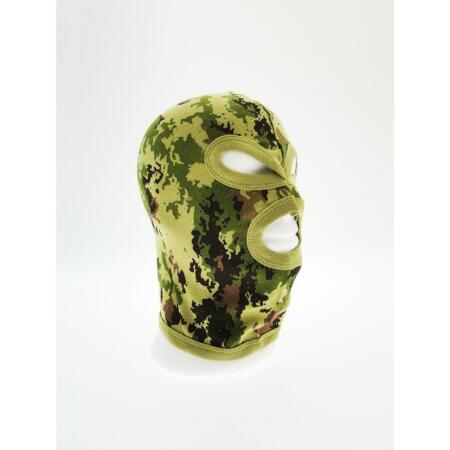 img-Balaclava Tactical 3 Holes Vegetated Cotton