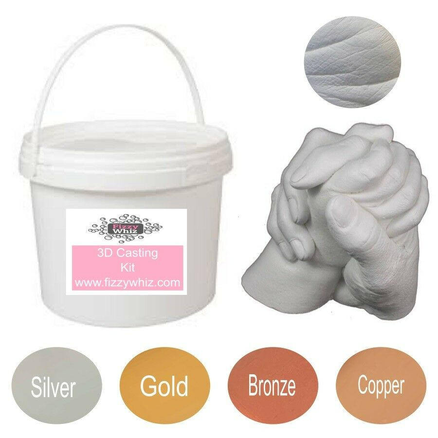 3d Casting Kit Holding Hands Family Moulding Powder