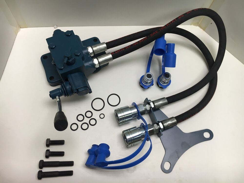 Tractor Hydraulic Remote : Remote hydraulic valve kit for ford tractors single
