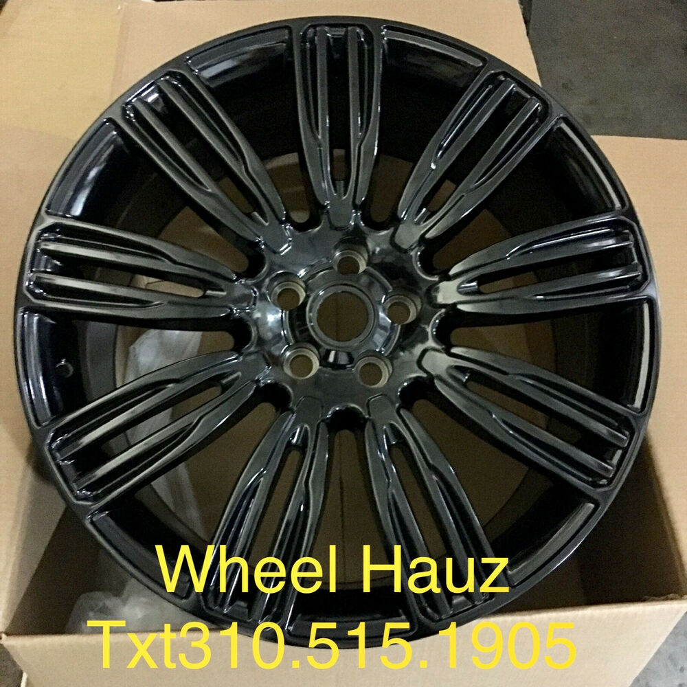 "22"" RANGE ROVER VELAR / EVOUE FACTORY EDITION WHEELS RIMS"