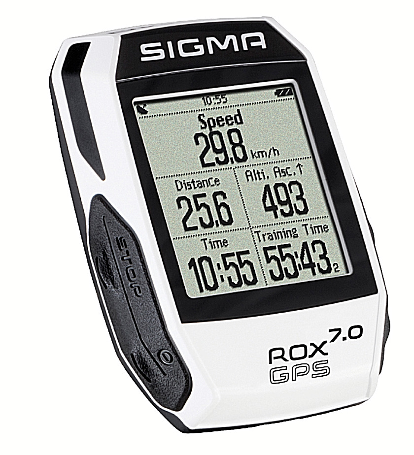 sigma sport computer rox 7 0 gps white wei kabellos tacho fahrrad ovp ebay. Black Bedroom Furniture Sets. Home Design Ideas