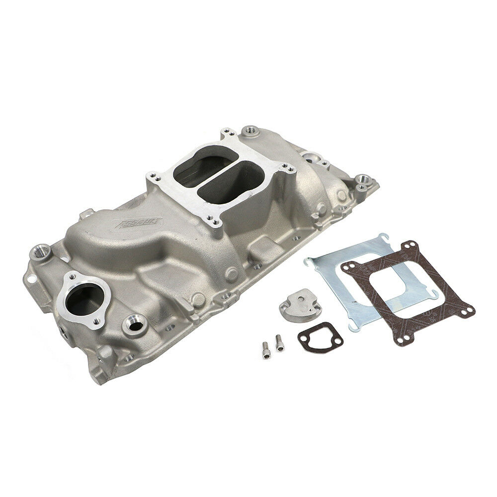 454 Low Rise Intake Manifold Big Block Chevy BBC BB Oval