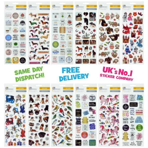 FUN STICKERS 2019 ** 36 DESIGNS TO CHOOSE FROM ** SEE OUR STORE FOR MORE **
