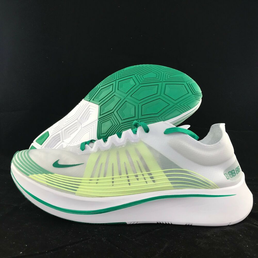 Details about Nike Zoom Fly SP Hong Kong White Lucid Green Yellow AJ9282-101  Men s 11 5ac599fbbcc7