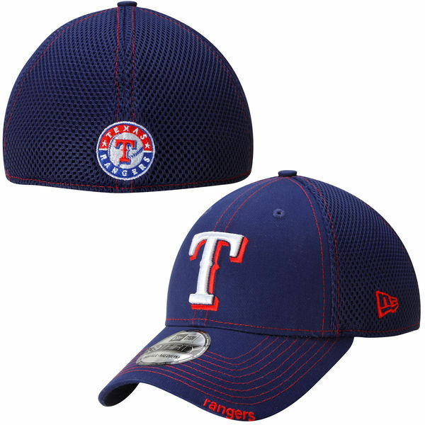 Details about Texas Rangers New Era 39THIRTY MLB Neo Stretch Fit Flex Mesh  Back Cap Hat 3930 cad204385