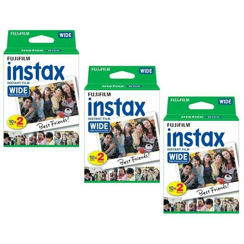 Best Camera 2020 Under 200 60 Prints Fujifilm Instant Wide Film for Fuji Instax 200, 210, 300