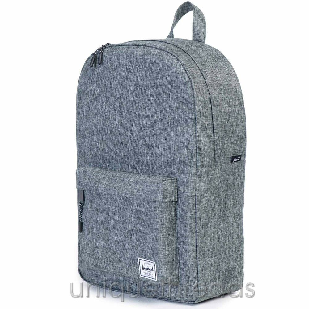 ac10393a3e Details about Herschel Supply Co. - Classic Backpack - Raven Crosshatch
