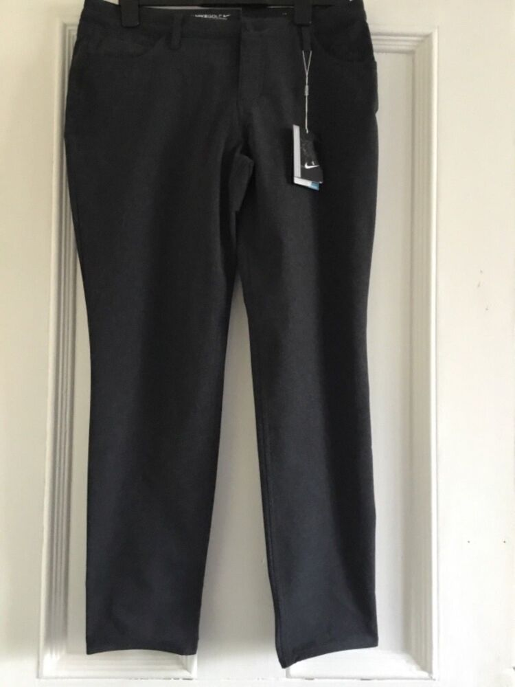 Details about Womens NIKE GOLF Slim Fit Trousers Size UK14 146c5fc51