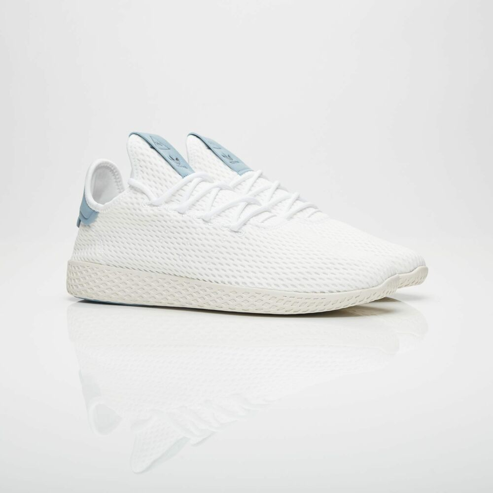 dd7deef3b5f4d Details about Adidas PW Tennis Hu BY8718 White Blue Originals Pharrell  Williams Mens New
