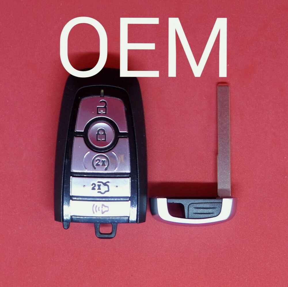 Oem ford mustang log smart key keyless 5b trunk remote start m3n a2c931426 ebay