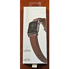 Nomad - Classic Strap - Horween Leather for Apple Watch 38mm & 40mm (Brown) NEW!