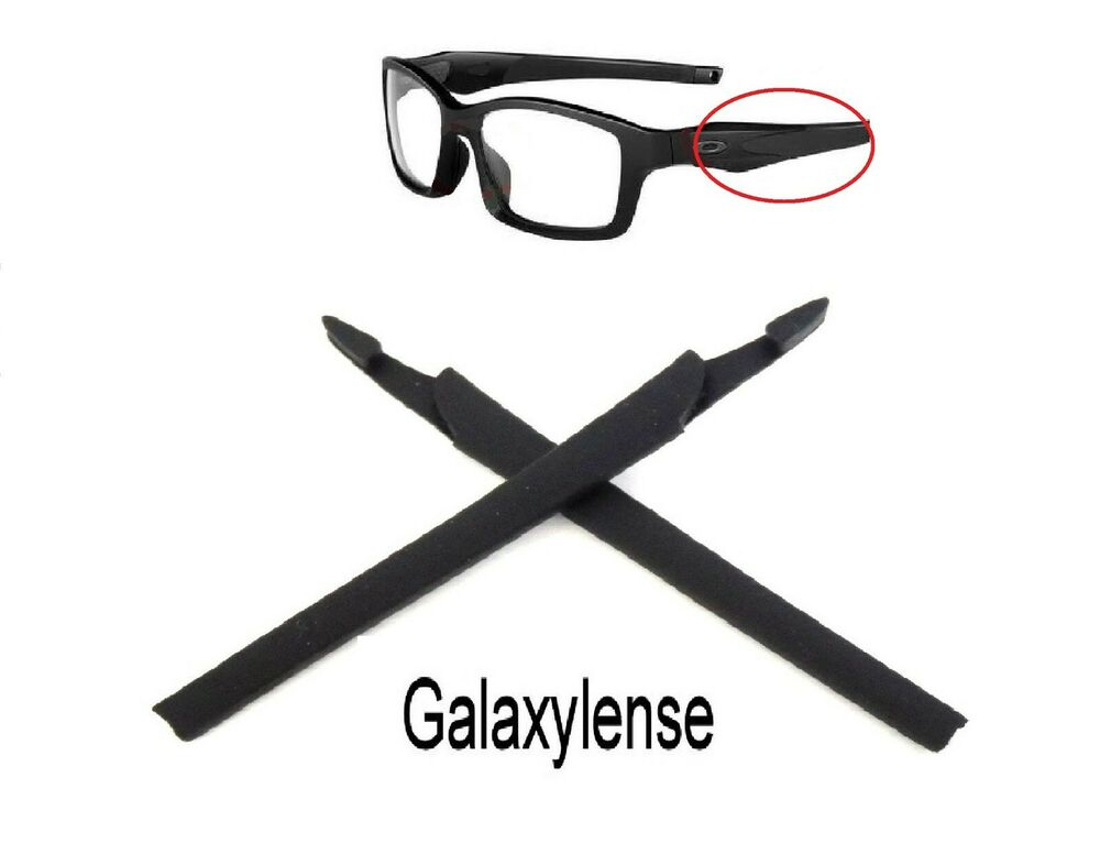50a3a73709 Details about Glasses Earsocks   Nose Pad For Oakley Crosslink  XL Sweep Range Pro Switch Black