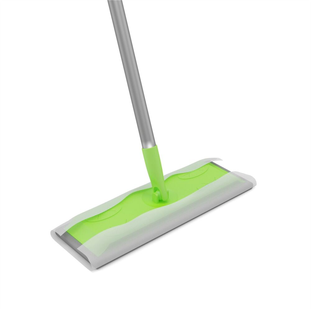 Static Cleaning Mop Sweeper Wet Or Dry Wipes Laminate Wood