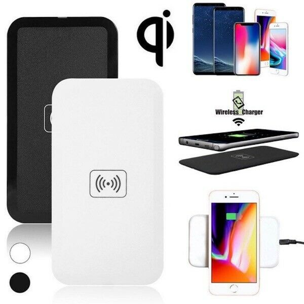Qi Wireless Charger FAST Supporto ricarica per Apple iPhone Xs PLUS Samsung S10