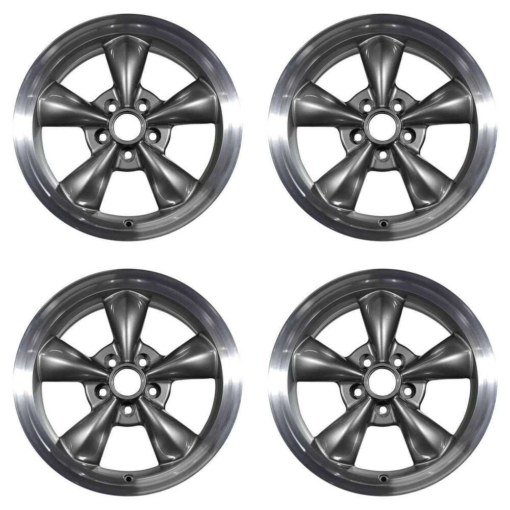 Details about ford mustang 1994 2006 17 oem wheels rims set
