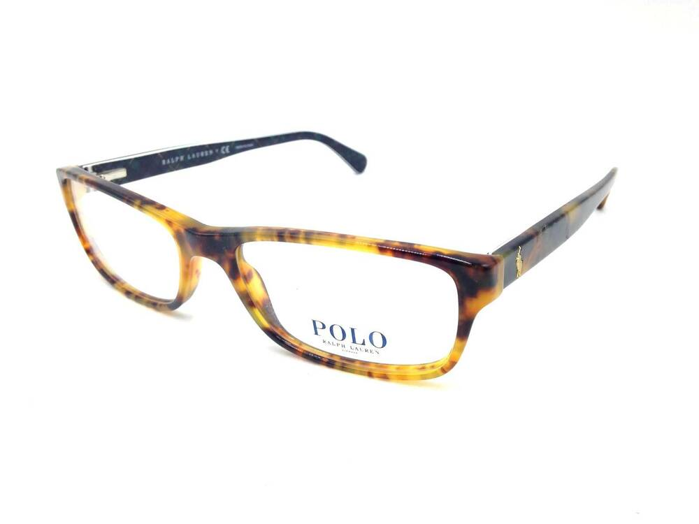 bd7d36cac1f Details about  350 POLO RALPH LAUREN WOMENS HAVANA EYEGLASSES FRAMES GLASSES  ITALY LENS 2121