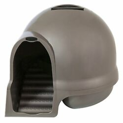 Enclosed Cat Litter Box Hidden Large Covered Furniture Kitty Enclosure