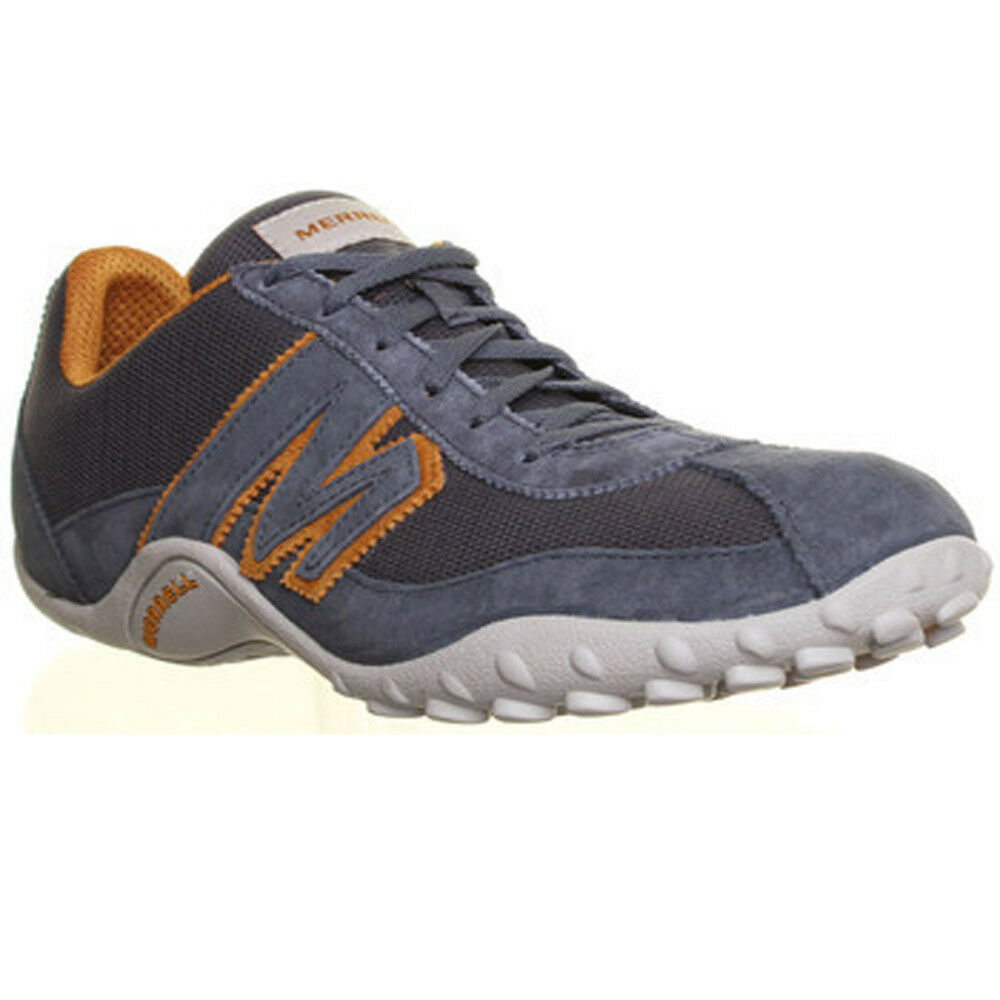 21c325c0a4f Details about 13088 Merrell sprint blast ms mens suede leather trainers