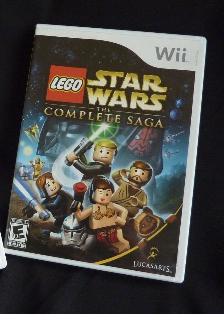 Lego Star Wars The Complete Saga Nintendo Wii 2007 23272330637