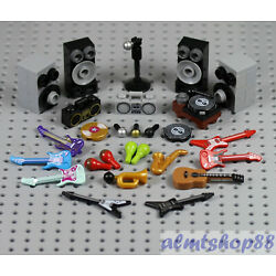 Kyпить LEGO - Musical Instruments - PICK YOUR ITEMS - Rock Band Minifigure Accessories  на еВаy.соm