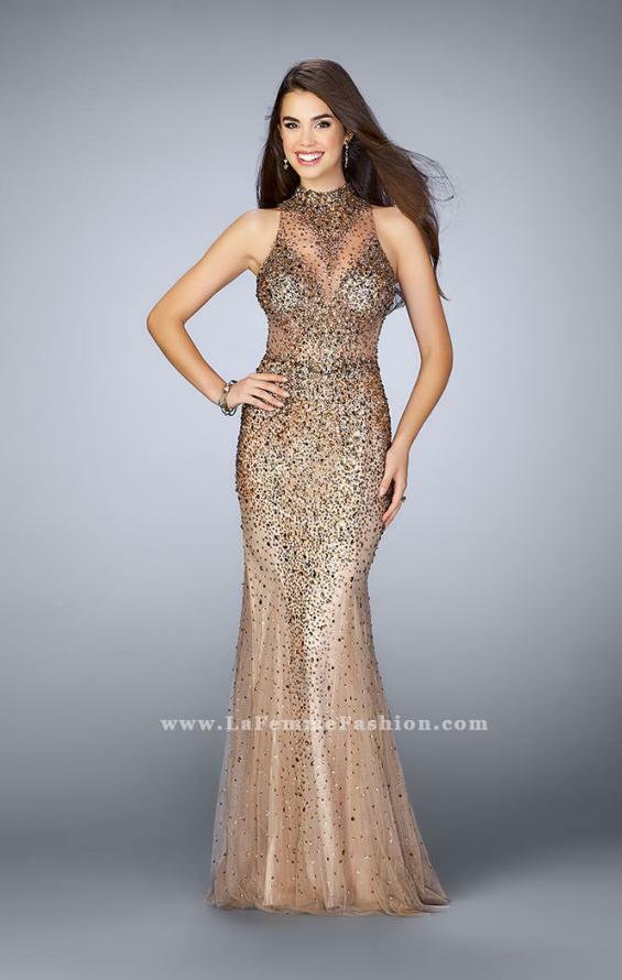 11be48b0ef5 Details about La Femme Prom Dress Style No 23911 ( wedding
