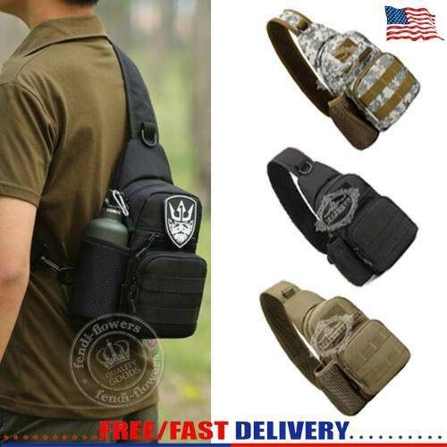 Climbing Bags Camping & Hiking Outdoor Tactical Military Mountaineering Bag Tactical Backpack Camo Camping Shoulder Bag Cross Body Belt Sling Bags Ture 100% Guarantee
