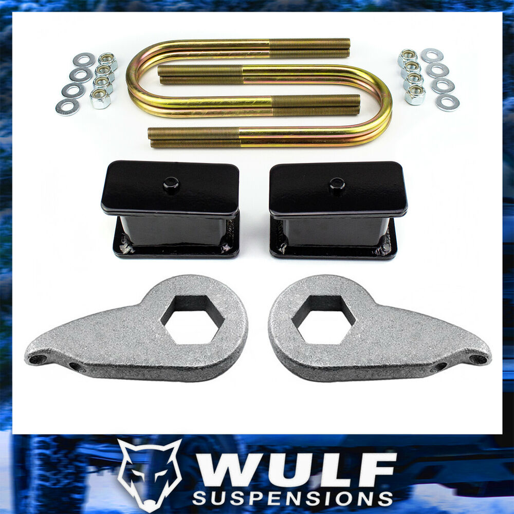 "Ford Lift Kits: 1-3"" Adj Front 3"" Rear Full Lift Kit For 1997-2003 Ford"