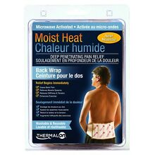 Thermalon Microwave Activated Moist Heat Therapy Wrap with Ties for Back,... New
