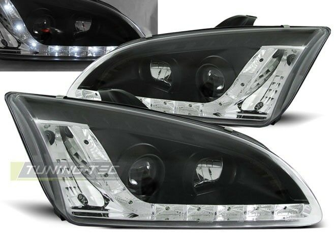 Details About Led Headlights Lpfo19 Ford Focus Mk 2 2004 2005 2006 2007 2008 Black