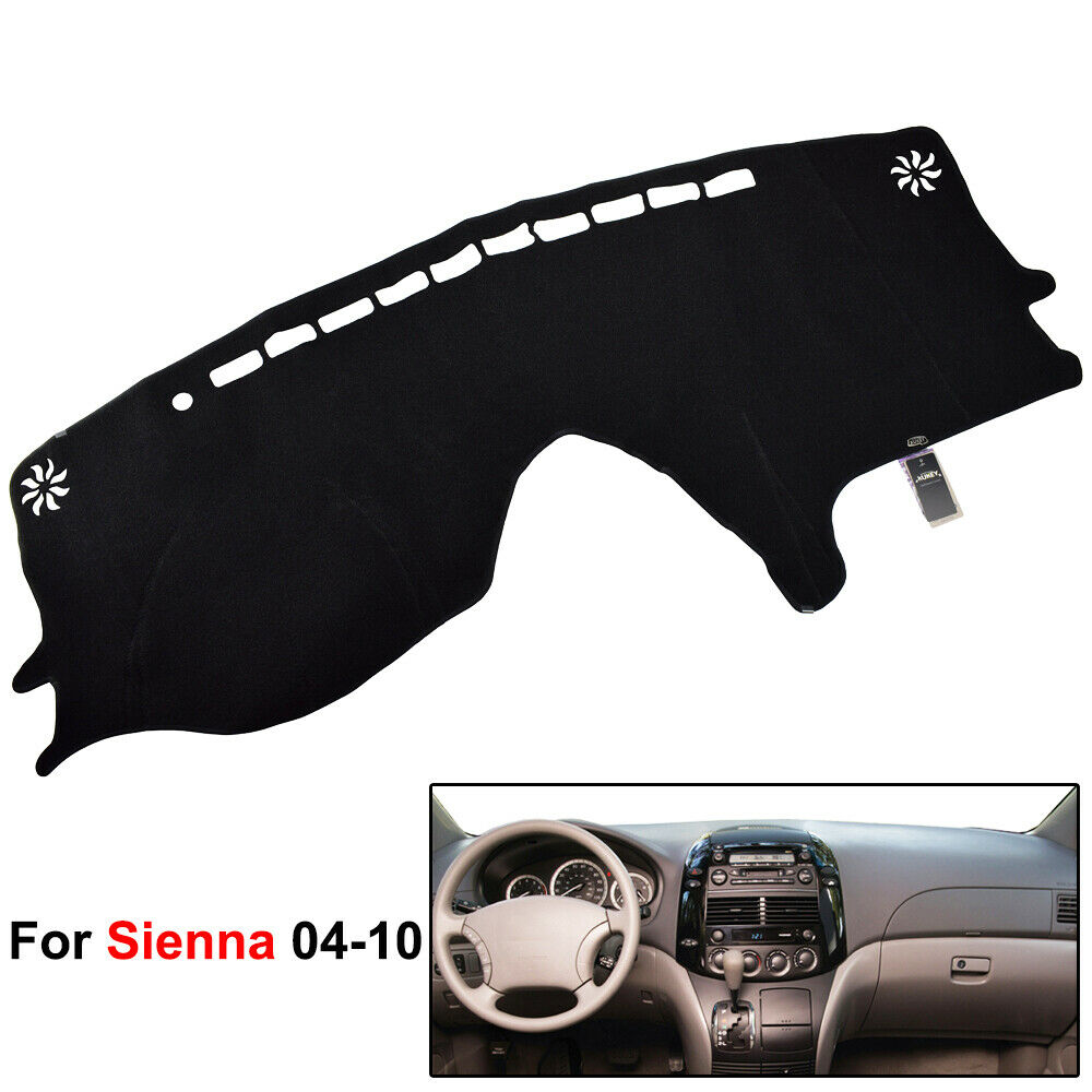 Details About Dashmat For Toyota Sienna 2004 2009 Dashboard Cover Mat