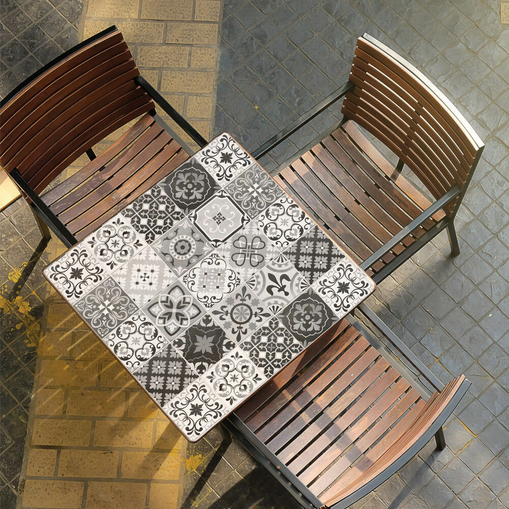 StickTILES Gray Spanish Mosaic Peel and Stick Tile ...