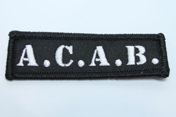 ACAB PATCH (MBP 019)