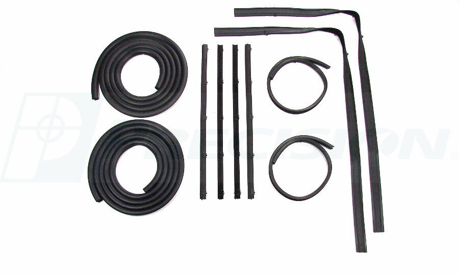 New 10 Piece Weatherstripping Door Seal Kit For 1972 77