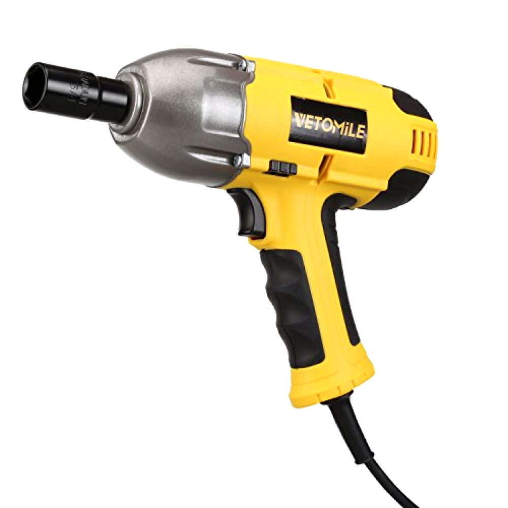 Details About Vetomile 230v Electric Impact Wrench Driver With Sockets And Carry Case