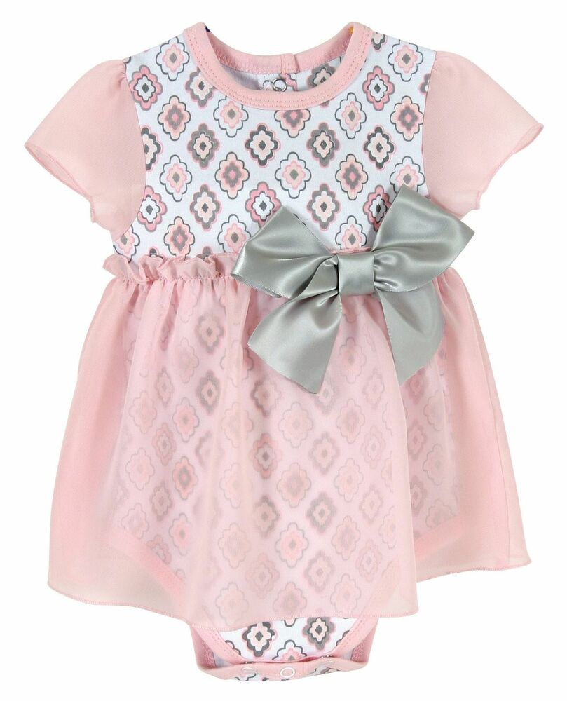05741d7ed13 Details about Stephan Baby Snapshirt-Style Chiffon Skirted Diamond Flower  Diaper Cover 6-12 Mo