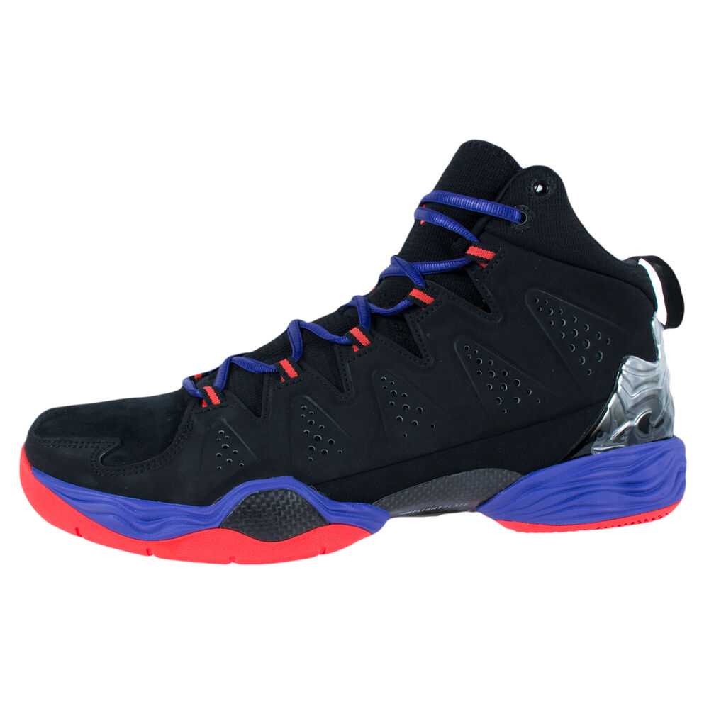 check out 7b1b3 f9dc3 Details about Jordan Melo M10 Men s Basketball Shoes (629876-053) BLACK RED