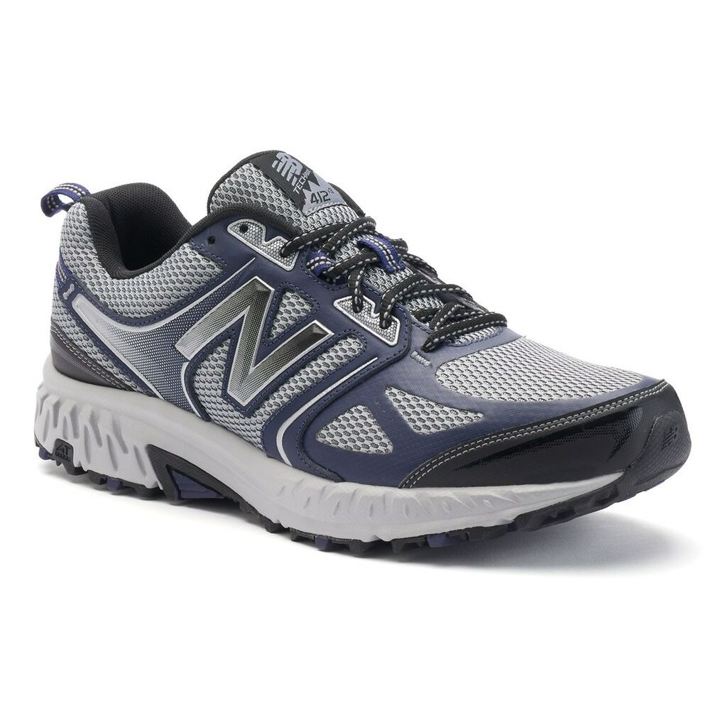 new balance 412 men 39 s trail running shoes nib color navy sliver medium x wide ebay. Black Bedroom Furniture Sets. Home Design Ideas