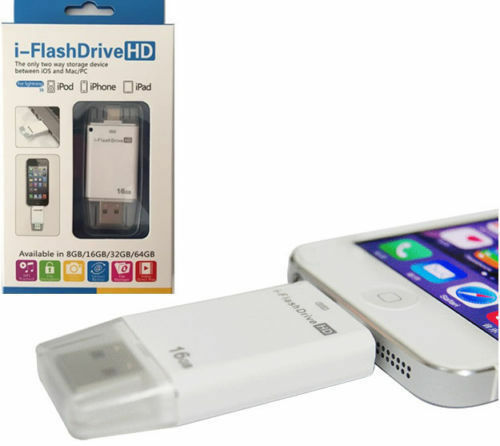 i Flash Drive U Disk Storage Memory Stick Adapter For iPhone XS 8 Plus SE iPad 4
