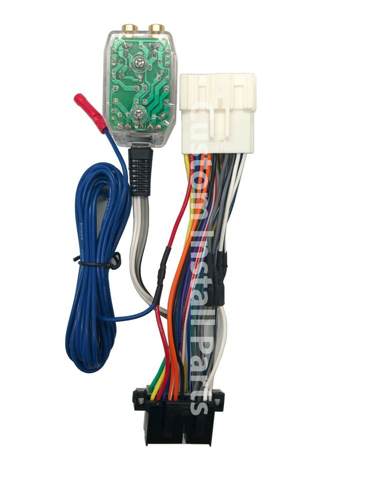 Factory Radio Amp Amplifier Interface Install Adapter Wiring Wire Harness  Cable   eBay