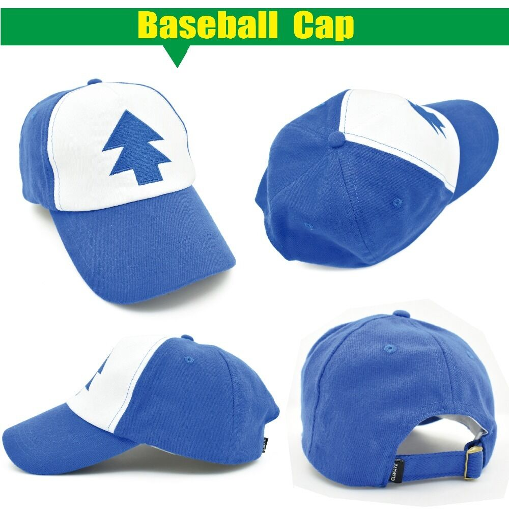 Details about Dipper Gravity Falls Cartoon New Curved Bill  BLUE PINE TREE  Hat  Cap Truckers 15c1d7ae199