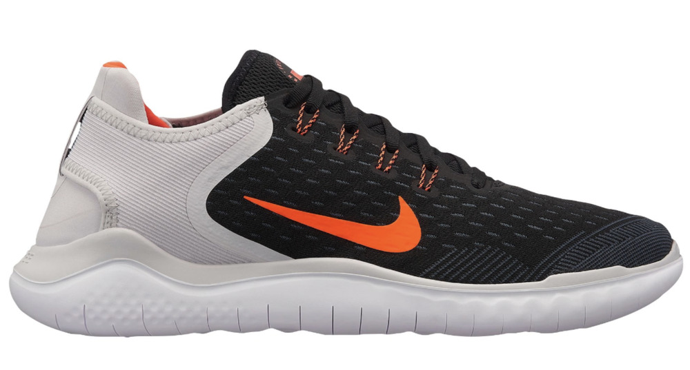 14104e4e0f68 Details about New NIKE FREE RN 2018 842836-005 MEN S Black Total Crimson Vast  Grey Shoes c1