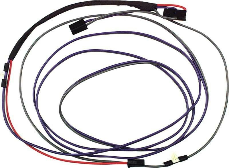 1969 Camaro Firebird Convertible Power Top Wiring Harness