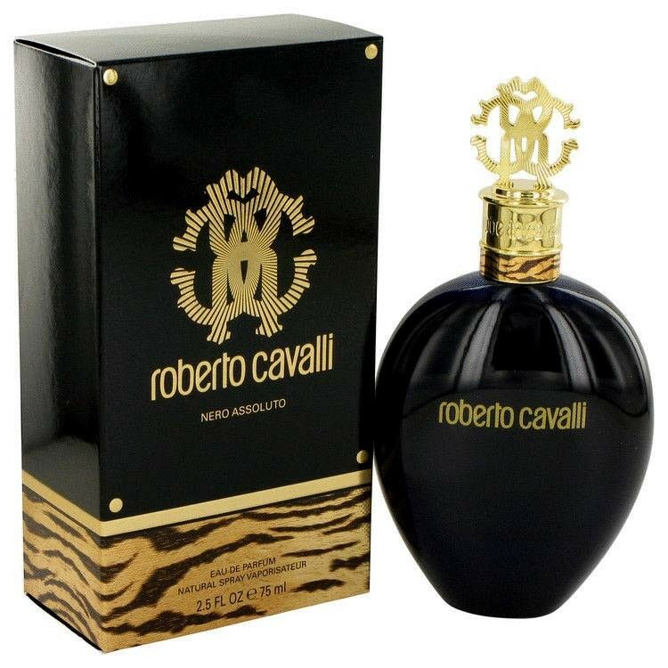 5eb8d64715547 Details about Roberto Cavalli Nero Assoluto Perfume 2.5 oz 75 ml EDP Woman  Spray New