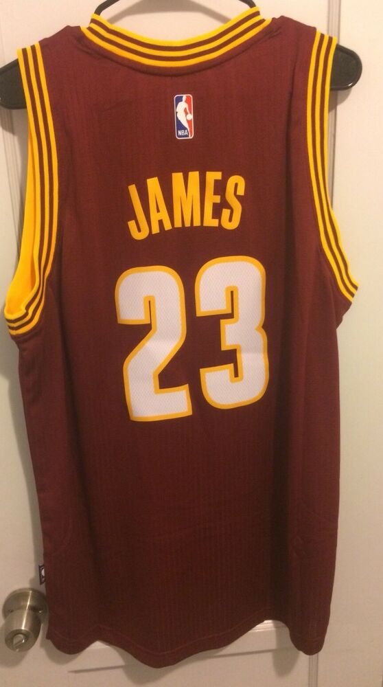 e2a399ace Details about LeBron James Cleveland Cavaliers Nba Jersey Men L Hwc Adidas   23 King Cavs Nwt