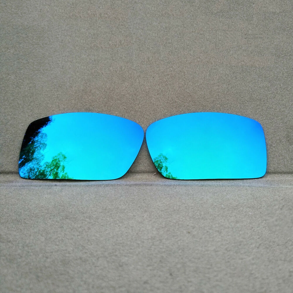 452d5e1002 Details about Polarized Ice Blue Mirrored Replacement Lenses for-Oakley  Gascan Sunglasses